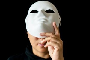 removing mask300