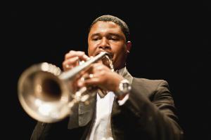 blowing trumpet300